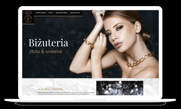 responsywna-strona-internetowa-aurum-Goodface-Agencja-Reklamowa-Jaslo
